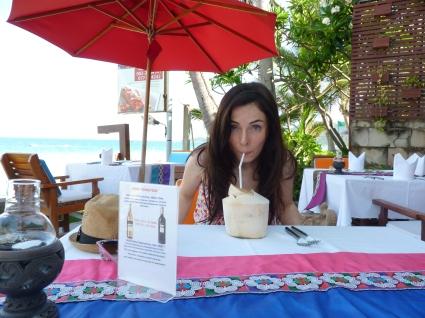 Thailand. Sunshine. Fresh Coconuts. Happiness!