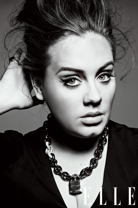 Adele beauty Elle magazine make-up australian irish beauty blog  adele eyeliner