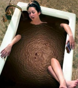 chocolate bath no calories easter skincare beauty australia ireland