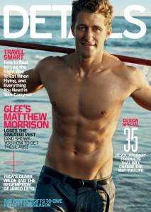 Details Magazine Mathew Morrison Glee Abs Body Fitness Health