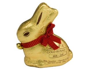 lindt gold bunny chocolate health blog happiness charity