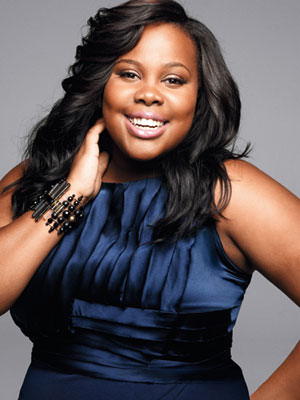 amber riley mercedes glee marie claire australian irish beauty blog gleek