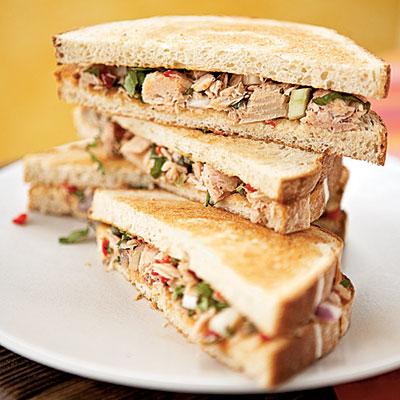 tuna good for your skin prevent sun damage wrinkles sandwich avocado