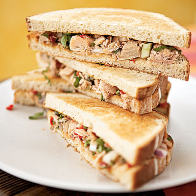 tuna good for your skin prevent sun damage wrinkles sandwich avocado