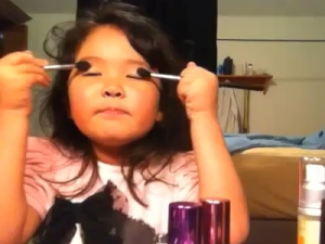 madison youtube 5 year old makeup lesson tutorial beauty