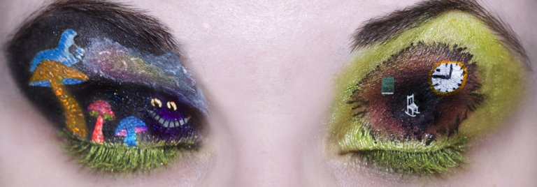 Katie Alves Alice in wonderland Eyes