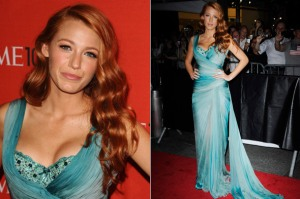 Blake Lively Red hair redhead time 100 hick