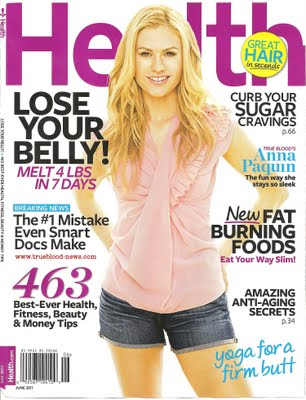 Anna Paquin Health Magazine body fitness happiness tru blood