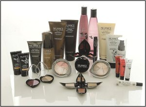 Nuance Slama Hayek beauty secrets skincare makeup