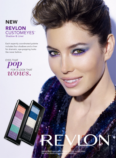 revlon customeyes eyeshadow shadow liner jessicsa biel review beauty australia ireland review
