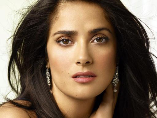 salma hayek nuance beauty make-up skincare secrets