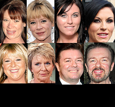 will losing weight age you? hannah waterman ricky gervais Jessie Wallace Fern Britton weight loss aging health beauty