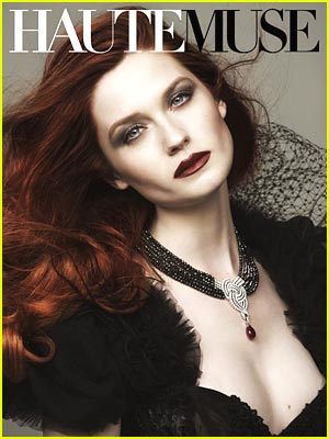 bonnie-wright-haute-muse ginny weasley