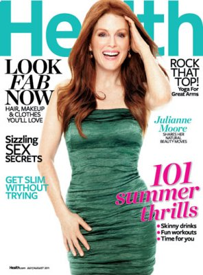 julianne moore health magazine fitness beauty skincare body image beauty