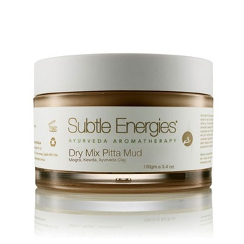 Subtle Energies Dry Mix Pitta Face Mud Mask Review Australia Beauty