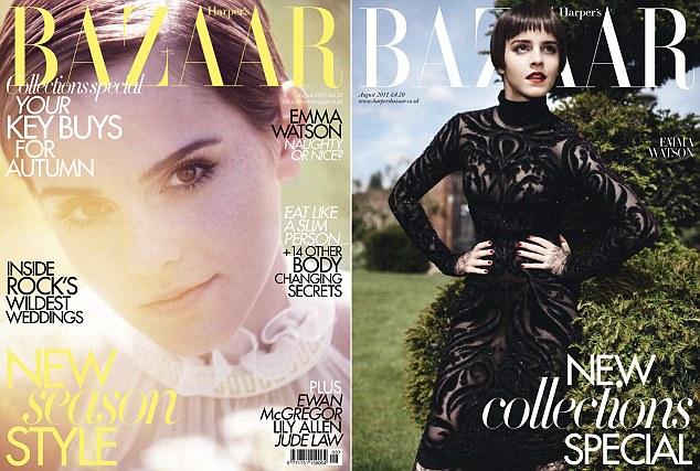 Emma Watson Harper's Bazaar Harry Potter