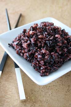 black rice healthy superfood antioxident china beauty blog dna cancer