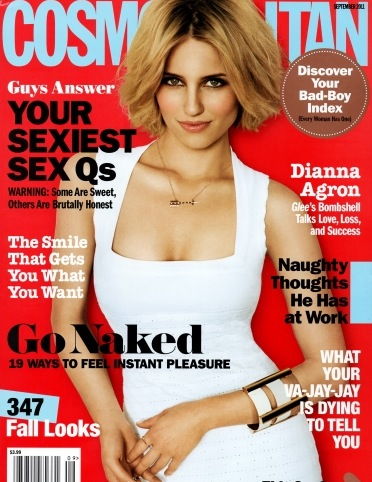 dianna-agron-cosmo-cover september 2011