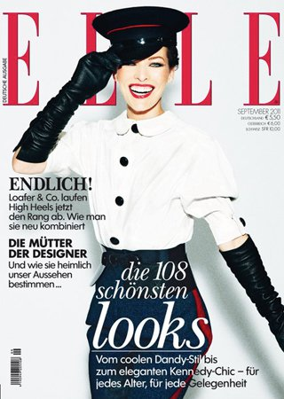 elle-germany-cover september 2011-milla-jovovich