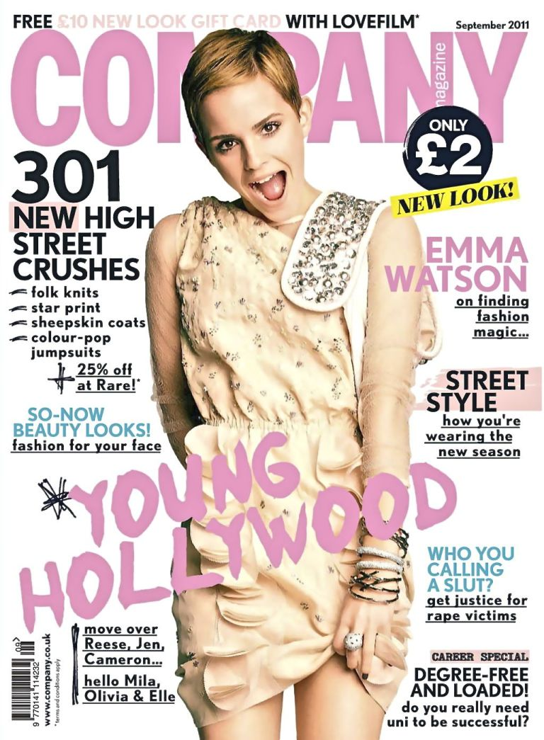 emma watson company 2011 september cover