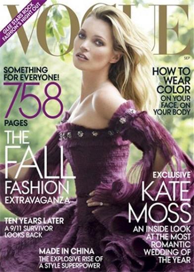 kate moss vogue cover september 2011