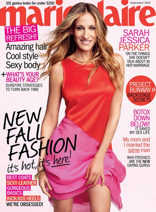 Sarah-Jessica-Parker-US-Marie-Claire-September-2011-magazine-cover