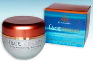 ri na mara face cream seaweed nourishing rich irish night