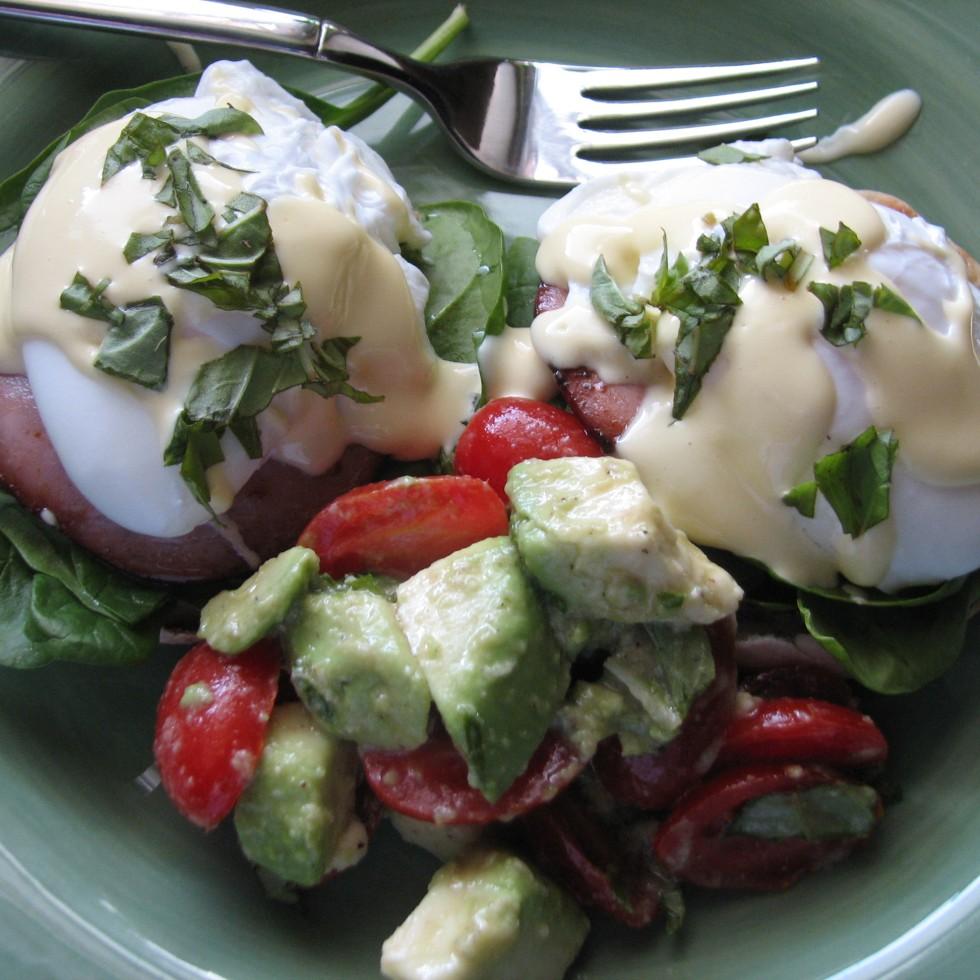 eggs benedict folic acid