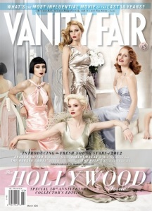 vanity fair hollywood issue 2012 March-2012 cover