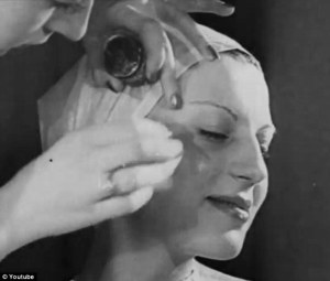 vintage makeup 1930s how to