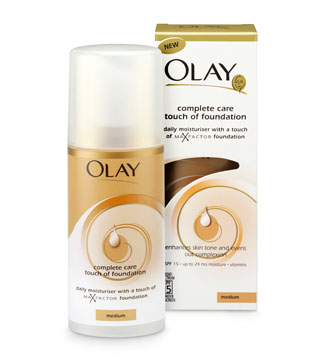 My New Favourite Moisturiser Olay Complete Care Touch Of Foundation
