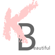 keeping beautiful logo www.keepingbeautiful.com beauty blog london design