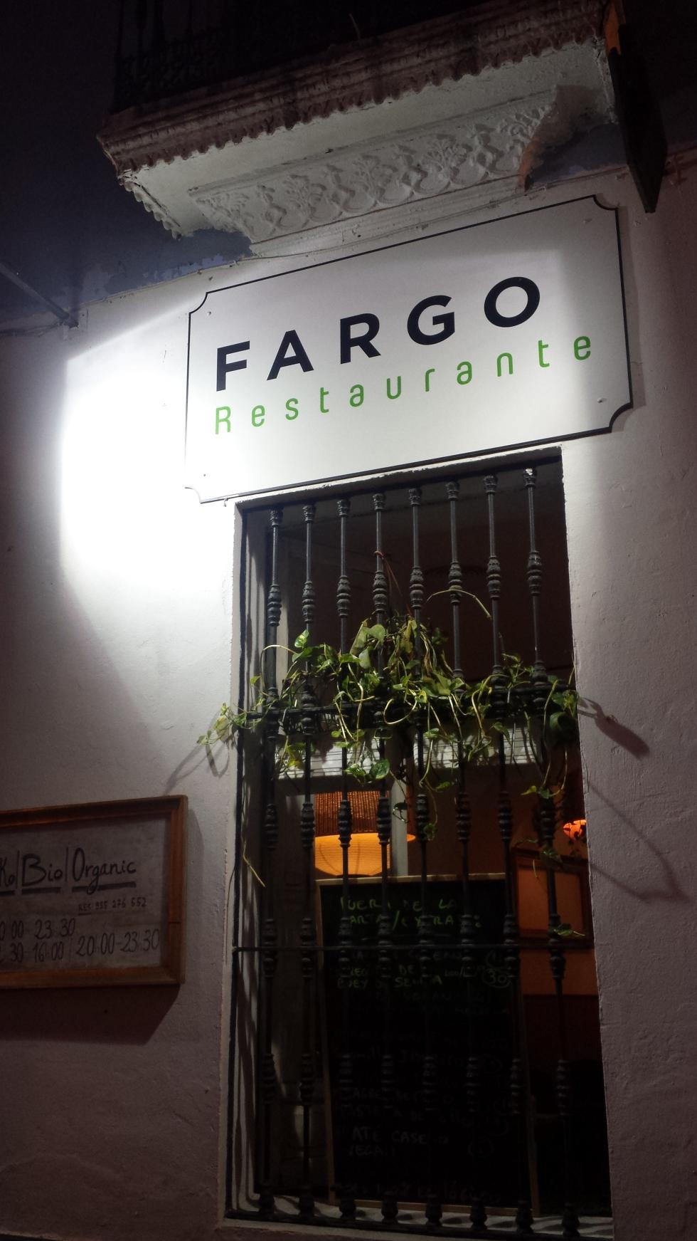 fargo restaurant vegetarian vegan glutenfree glutem free seviille spain andalucia review delicious beauty