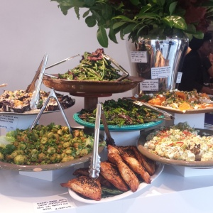 salad bar at Ottolenghi Spitalfields
