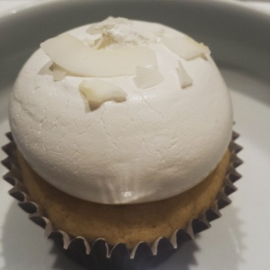 dairy free and gluten free coconut cupcake from Ooh Lou Lou