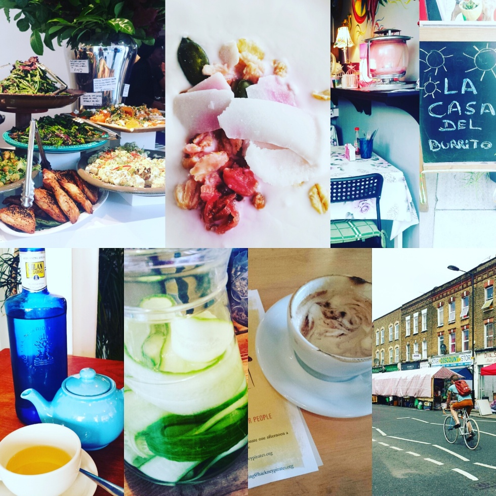 eating food cafes review east london